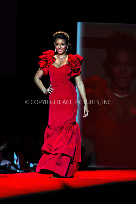 WWW.ACEPIXS.COM . . . . . ....February 2, 2007. New York City.....Zuleyka Rivera Mendoza, Miss Universe, wearing Gustavo Cidile during Heart Truth Red Dress Collection Fal 2007.....Please byline: KRISTIN CALLAHAN - ACEPIXS.COM.. . . . . . ..Ace Pictures, Inc:  ..(212) 243-8787 or (646) 679 0430..e-mail: picturedesk@acepixs.com..web: http://www.acepixs.com