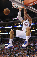 11/28/12 Los Angeles, CA: Los Angeles Clippers power forward Blake Griffin #32 during an NBA game between the Los Angeles Clippers and the Minnesota Timberwolves played at Staples Center where the Clippers defeated the Timberwolves 101-95.