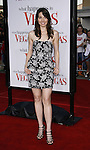 """Actress Whitney Cummings arrives at the Premiere Of Fox's """"What Happens In Vegas"""" on May 1, 2008 at the Mann Village Theatre in Los Angeles, California."""