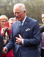 Prince Charles Visits Old Courts