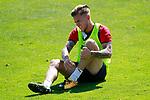 Getafe's Alvaro Jimenez injured during training session. September 12,2017.(ALTERPHOTOS/Acero)