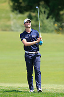 Thomas Detry (BEL) on the 1st fairway during Round 4 of the HNA Open De France at Le Golf National in Saint-Quentin-En-Yvelines, Paris, France on Sunday 1st July 2018.<br /> Picture:  Thos Caffrey | Golffile