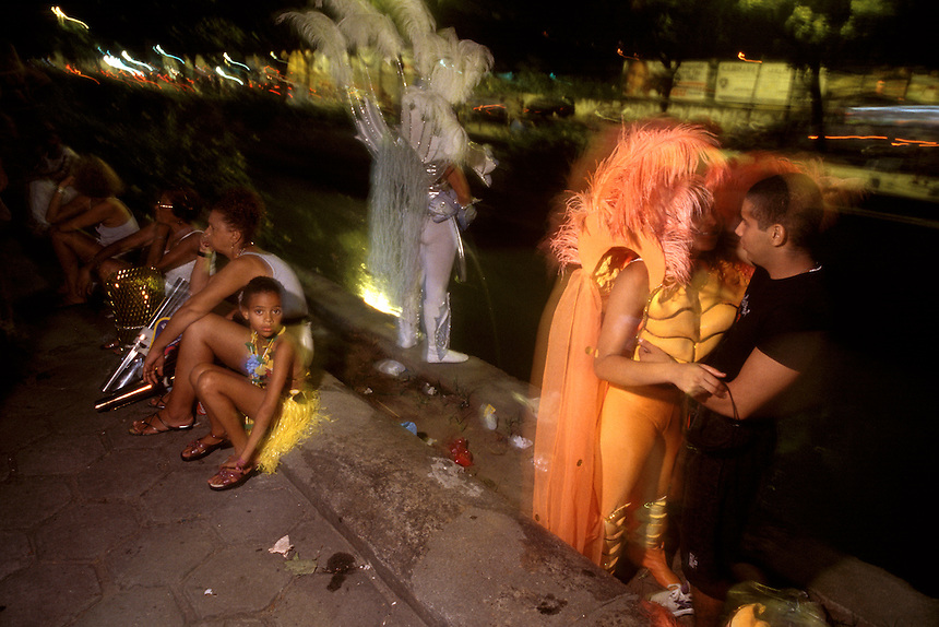 Cariocas embrace the flesh and all its functions during carnaval -- Rio's notorious carnal celebration days before the spiritual season of Lent.