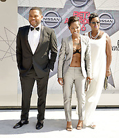 LOS ANGELES, CA - JUNE 26: Bre-Z, Anthony Anderson at the 2016 BET Awards at the Microsoft Theater on June 26, 2016 in Los Angeles, California. Credit: Koi Sojer/MediaPunch