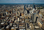 AErial views of Philadelphia facing west towards Drexel Univ