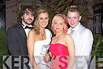 Fergal Sandison, Katie Wheelan, Kimberlie O'Brien and Stephen Cahill pictured at Saint Josephs Abbeyfeale Debs Ball at the Abbeygate hotel on Friday night.