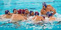 Team ITA<br /> FINA Men's Water Polo Olympic Games Qualifications Tournament 2016<br /> quarter final<br /> Romania ROU (White) Vs Italy ITA (Blue)<br /> Trieste, Italy - Swimming Pool Bruno Bianchi<br /> Day 06  08-04-2016<br /> Photo G.Scala/Insidefoto/Deepbluemedia