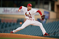 Palm Beach Cardinals starting pitcher Alex Fagalde (29) during a Florida State League game against the Daytona Tortugas on April 11, 2019 at Roger Dean Stadium in Jupiter, Florida.  Palm Beach defeated Daytona 6-0.  (Mike Janes/Four Seam Images)