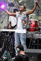 PHILADELPHIA, PA - JULY 4 :  Yazz the Greatest pictured performing at Wawa Welcome America concert on the Parkway in Philadelphia, Pa on July 4, 2016  photo credit Star Shooter / MediaPunch