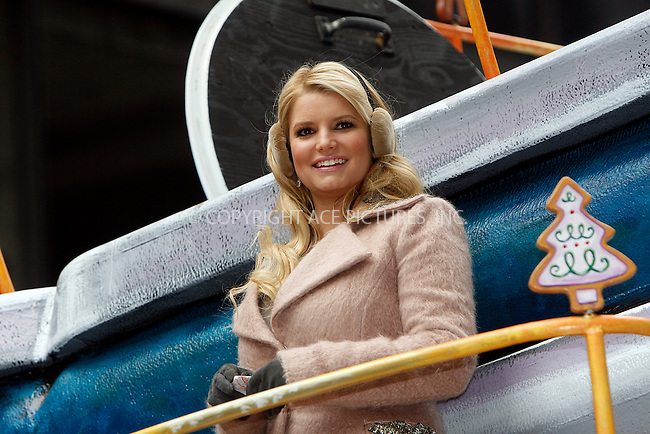 WWW.ACEPIXS.COM . . . . .  ....November 25 2010, New York City....Singer Jessica Simpson at the 84th Macy's Thanksgiving Day Parade on November 25, 2010 in New York City.....Please byline: NANCY RIVERA- ACEPIXS.COM.... *** ***..Ace Pictures, Inc:  ..Tel: 646 769 0430..e-mail: info@acepixs.com..web: http://www.acepixs.com