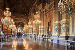 Grand Foyer/Great Hall of Opera Garnier. Palais Garnier. City of Paris. Paris