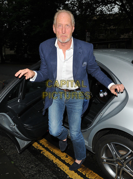 Charles Dance at the &quot;Vamos Cuba!&quot; VIP gala night, Sadler's Wells Theatre, Rosebery Avenue, London, England, UK, on Tuesday 02 August 2016.<br /> CAP/CAN<br /> &copy;CAN/Capital Pictures