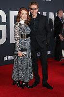 "LOS ANGELES - OCT 6:  Linda Bruckheimer, Jerry Bruckheimer at the ""Gemini"" Premiere at the TCL Chinese Theater IMAX on October 6, 2019 in Los Angeles, CA"