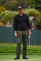 Scott Piercy (USA) looks over his putt on 14 during round 1 of the 2019 US Open, Pebble Beach Golf Links, Monterrey, California, USA. 6/13/2019.<br /> Picture: Golffile | Ken Murray<br /> <br /> All photo usage must carry mandatory copyright credit (© Golffile | Ken Murray)