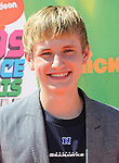LOS ANGELES, CA- JULY 17: Actor Nathan Gamble attends Nickelodeon Kids' Choice Sports Awards 2014 at Pauley Pavilion on July 17, 2014 in Los Angeles, California.