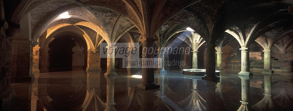 Afrique/Maghreb/Maroc/El-Jadida: BCiterne portugaise de la citadelle,