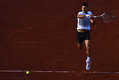 4th June 2017, Roland Garros, Paris, France; French Open tennis championships;  Novak Djokovic (Ser) as he beats Ramos-Vinolas  in 3 sets