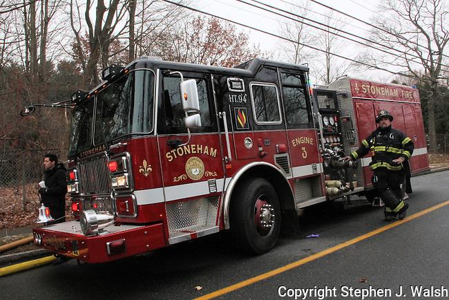 3 alarm fire Wakefiild, MA 52 Lake Street morning of December 2, 2012. 2.5 story wood frame.