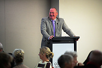 Auctioneer Craig Nelson. Little Talks function at Solway Copthorne Hotel in Masterton, New Zealand on Thursday, 27 July 2017. Photo: Dave Lintott / lintottphoto.co.nz