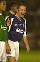 11/10/2002                   Copyright Pic : James Stewart.File Name : stewart-testimonial 01.MCCOIST SHARES A JOKE....Payments to :-.James Stewart Photo Agency, 19 Carronlea Drive, Falkirk. FK2 8DN      Vat Reg No. 607 6932 25.Office     : +44 (0)1324 570906     .Mobile  : +44 (0)7721 416997.Fax         :  +44 (0)1324 570906.E-mail  :  jim@jspa.co.uk.If you require further information then contact Jim Stewart on any of the numbers above.........