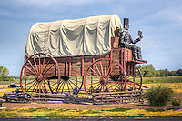 World's Largest Covered Wagon Lincoln Illinois