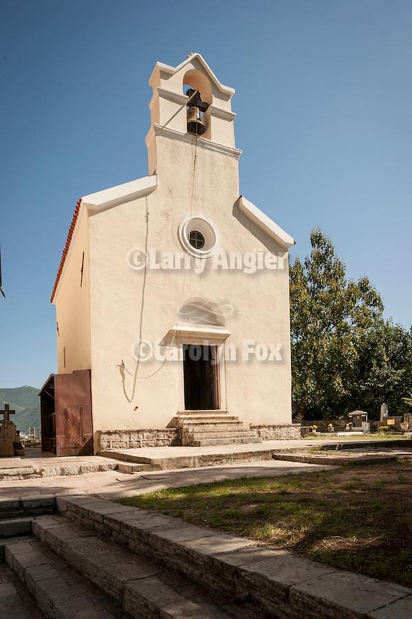 Church of the Assmption (1030?--probably 1648) at the Savina Monastery in Herceg Novi