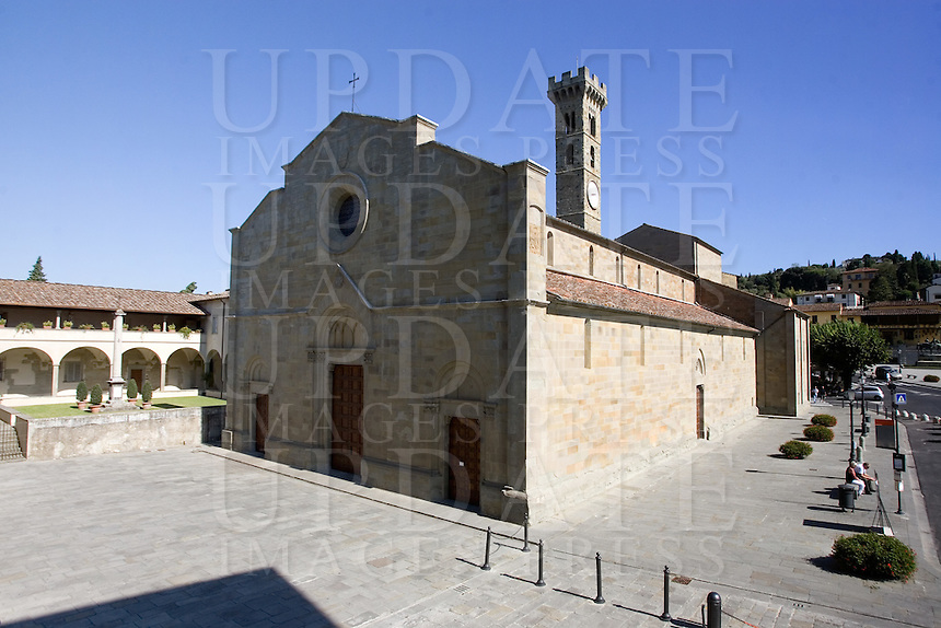View of the Duomo of Fiesole, near Florence, Tuscany.<br /> UPDATE IMAGES PRESS/Riccardo De Luca