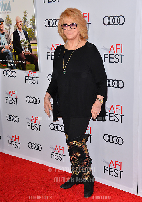 """LOS ANGELES, CA. November 10, 2018: Ann-Margret at the AFI Fest 2018 world premiere of """"The Kominsky Method"""" at the TCL Chinese Theatre.<br /> Picture: Paul Smith/Featureflash"""
