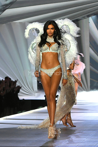 NEW YORK, NY - NOVEMBER 08: Kelly Gale at the 2018 Victoria's Secret Fashion Show at Pier 94 on November 8, 2018 in New York City. Credit: John Palmer/MediaPunch