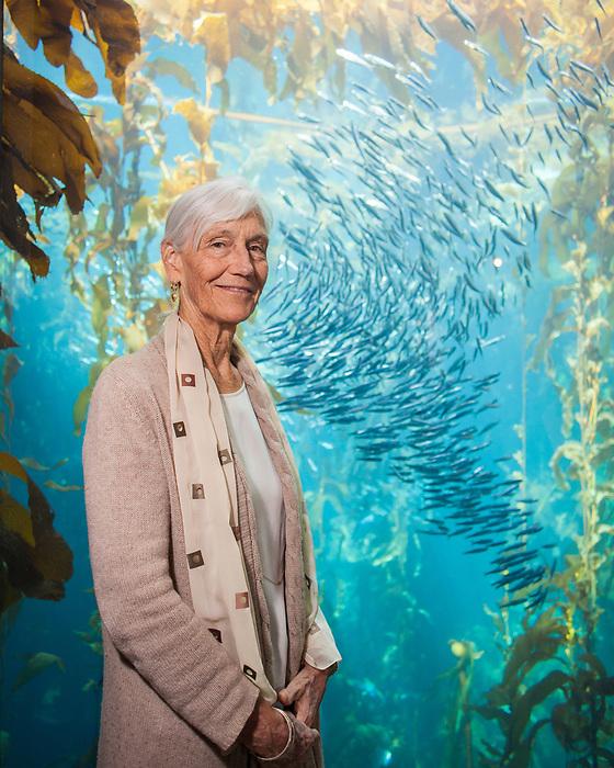 Monterey Bay Aquarium CEO Julie Packard on Oct. 28, 2019.