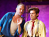 The Sting <br /> at the newly re-opened<br /> Wilton's Music Hall, London, Great Britain <br /> Press photocall <br /> 11th September 2015 <br /> <br /> Bob Cryer as Gondorff<br /> Ross Forder as Hooker <br /> <br /> <br /> Photograph by Elliott Franks <br /> Image licensed to Elliott Franks Photography Services