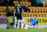 St Johnstone v Hamilton Accies&hellip;10.11.18&hellip;   McDiarmid Park    SPFL<br />Tony Watt gets an injury to his hip<br />Picture by Graeme Hart. <br />Copyright Perthshire Picture Agency<br />Tel: 01738 623350  Mobile: 07990 594431