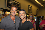 """Days Of Our Lives - Christian Taylor & Wally Kurth meet the fans as they sign """"Days Of Our Lives Better Living"""" on September 27, 2013 at Books-A-Million in Nashville, Tennessee. (Photo by Sue Coflin/Max Photos)"""