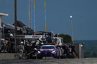 #35 Riley Motorsports Mercedes-AMG, GS: James Cox, Dylan Murry, Pit Stop