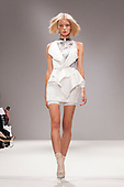LONDON, ENGLAND - London Fashion Week, S/S 2011 collection by Masha Ma showing at Vauxhall Fashion Scout, Freemason's Hall