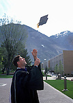 Young Grad 2<br /> <br /> Graduate. Steve Young Graduation photo in cap and gown.<br /> <br /> Photo by Mark Philbrick/BYU<br /> <br /> © BYU PHOTO 2009<br /> All Rights Reserved<br /> photo@byu.edu  (801)422-7322