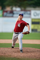 Mahoning Valley Scrappers relief pitcher Jonathan Teaney (30) delivers a pitch during the second game of a doubleheader against the Batavia Muckdogs on September 4, 2017 at Dwyer Stadium in Batavia, New York.  Mahoning Valley defeated Batavia 6-2.  (Mike Janes/Four Seam Images)