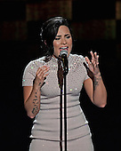 Demi Lovato makes remarks and performs at the 2016 Democratic National Convention at the Wells Fargo Center in Philadelphia, Pennsylvania on Monday, July 25, 2016.<br /> Credit: Ron Sachs / CNP<br /> (RESTRICTION: NO New York or New Jersey Newspapers or newspapers within a 75 mile radius of New York City)