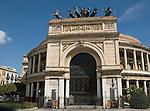 Teatro Politeama Garibaldi, Palermo, Sicily, Italy