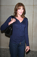 NEW YORK, NY - OCTOBER 10:  Carla Bruni seen after an appearance on NBC's Today Show in New York City on October 10,  2017. <br /> CAP/MPI/RW<br /> &copy;RW/MPI/Capital Pictures