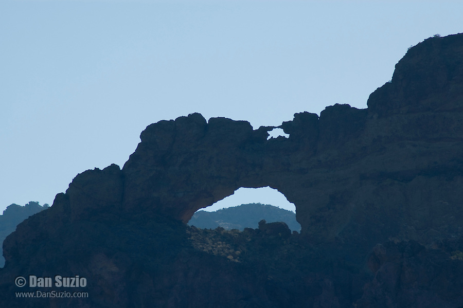Arches in Arch Canyon, Organ Pipe Cactus National Monument, Arizona.