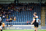 Lots of empty seats - not a good sign for a move to a 35,000 seat stadium - Rugby Union - 2014 / 2015 Aviva Premiership - Wasps vs. Bath - Adams Park Stadium - London - 11/10/2014 - Pic Charlie Forgham-Bailey/Sportimage
