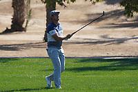 Bryson DeChambeau (USA) on the 8th during Round 1 of the Abu Dhabi HSBC Championship 2020 at the Abu Dhabi Golf Club, Abu Dhabi, United Arab Emirates. 16/01/2020<br /> Picture: Golffile | Thos Caffrey<br /> <br /> <br /> All photo usage must carry mandatory copyright credit (© Golffile | Thos Caffrey