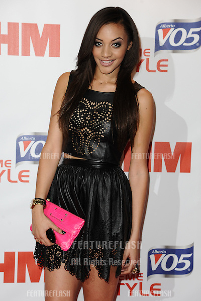 Amal Fashanu arriving at FHM 100 Sexiest Women In The World 2012 - Launch Party, Proud Bank, London. 01/05/2012 Picture by: Steve Vas / Featureflash