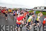 Pictured at the start of the Kerryhead Half Marathon in Ballyheigue on Sunday.
