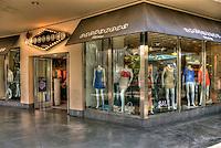 Blackjack, Clothing, Men's, Woman's, apparel, accessories, Kodak, Shopping, Center, Hollywood, Highland,  Hollywood, Boulevard, CA, High dynamic range imaging (HDRI or HDR)