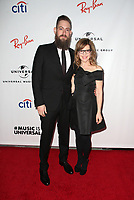LOS ANGELES, CA - FEBRUARY 10: Roey Hershkovitz, Lisa Loeb, at theUniversal Music Group Grammy After party celebrating th 61st Annual Grammy Awards at The Row in Los Angeles, California on February 10, 2019. Credit: Faye Sadou/MediaPunch