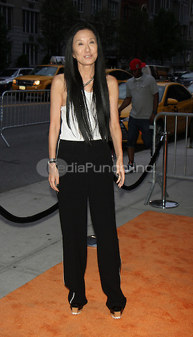 NEW YORK, NY-June 13: Vera Wang at  EPIX presents New York premiere of  EPIX original Documentary SERENA the Other Side of Greatness at the SVA Theatre in New York. NY June 13, 2016. Credit:RW/MediaPunch