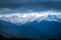 Tararua Ranges near Masterton, New Zealand on Wednesday, 23 October 2019. Photo: Dave Lintott / lintottphoto.co.nz