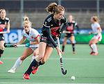 AMSTELVEEN - Felice Albers (Adam)  tijdens de hoofdklasse hockeywedstrijd dames,  Amsterdam-Oranje Rood (2-2) .   COPYRIGHT KOEN SUYK